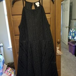Mossimo (Target) Black Lace Dress